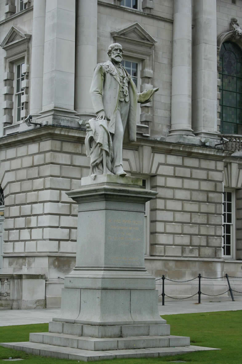 Statue of Sir Edward Harland