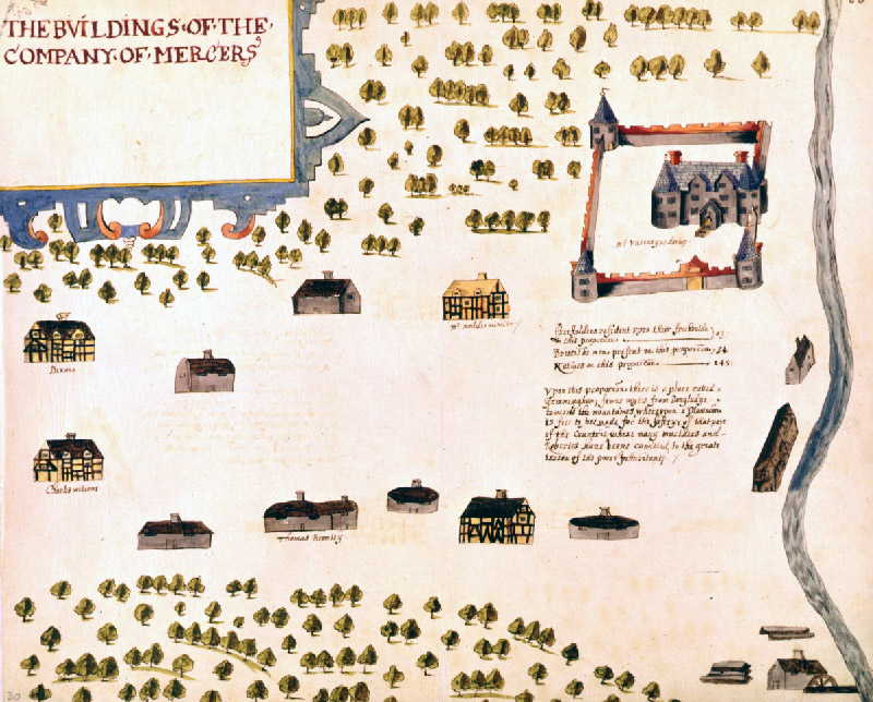 Image showing an inchoerent settlement at Movanagher