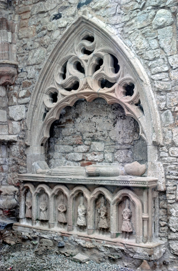Tomb in the Priory Chancel