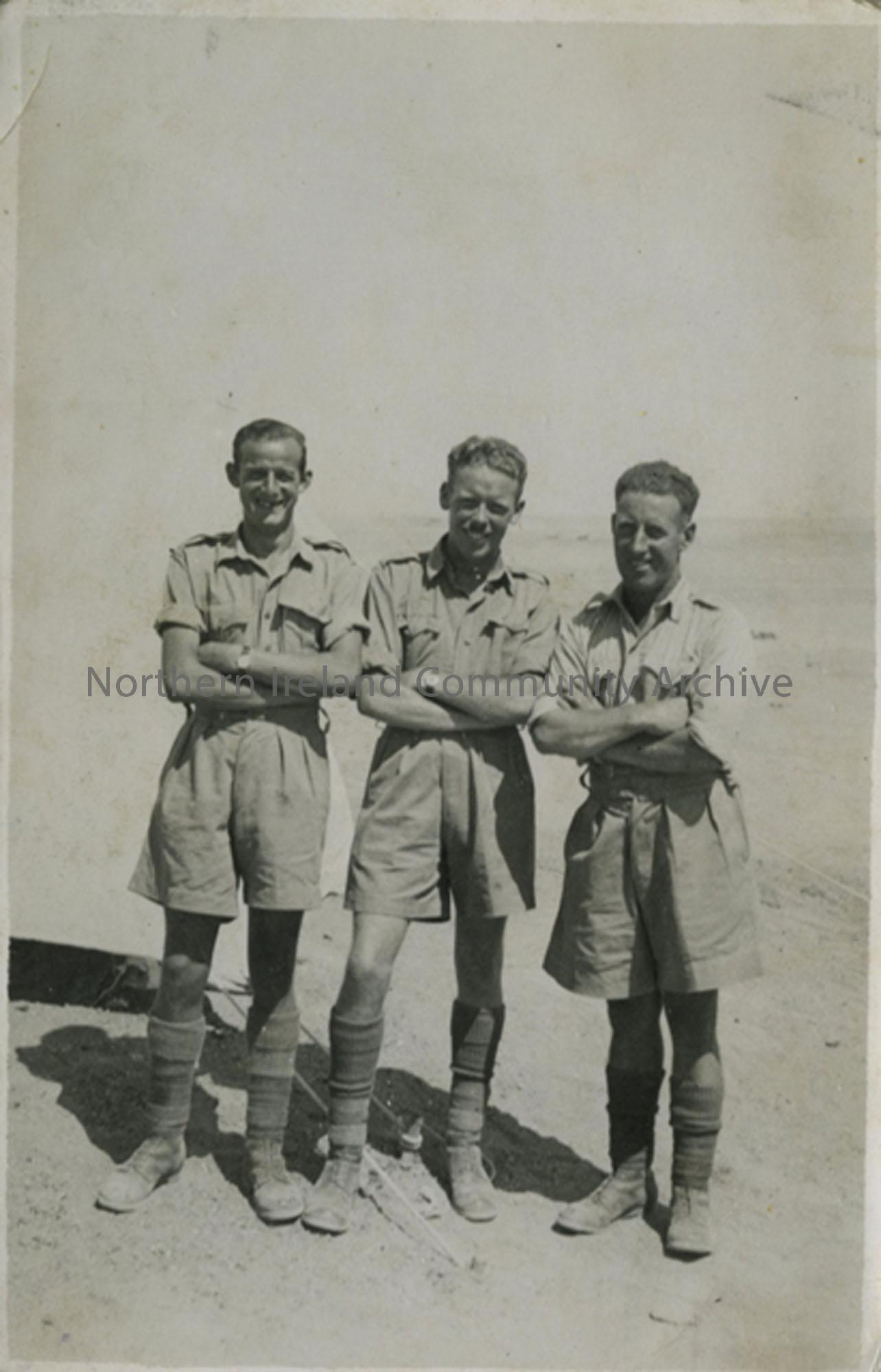 3 Soldiers in the Western Desert
