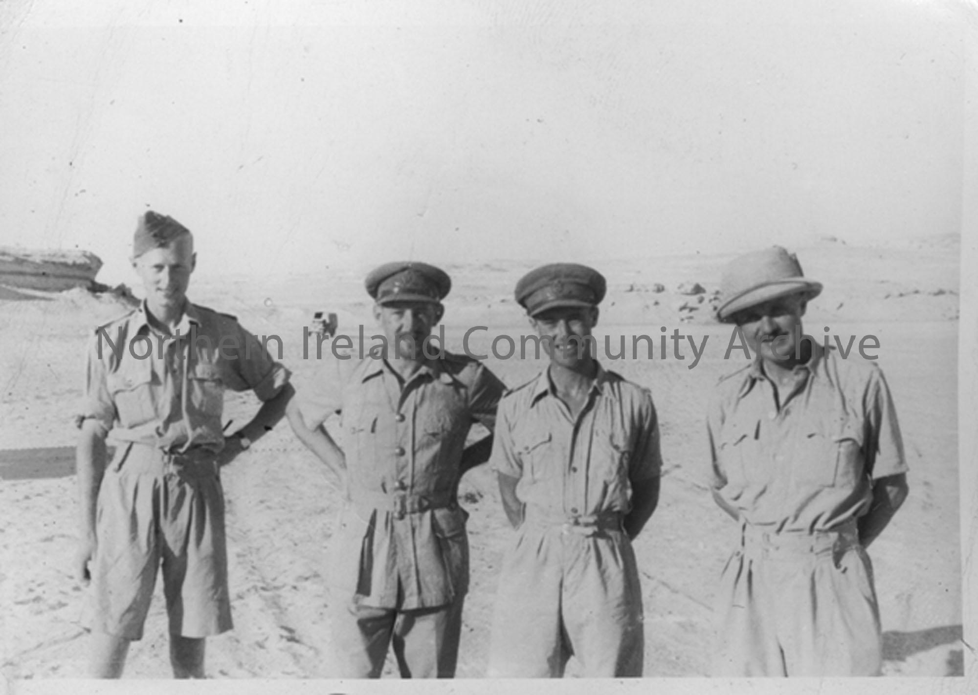 Group of soldiers at Jarabub Oasis