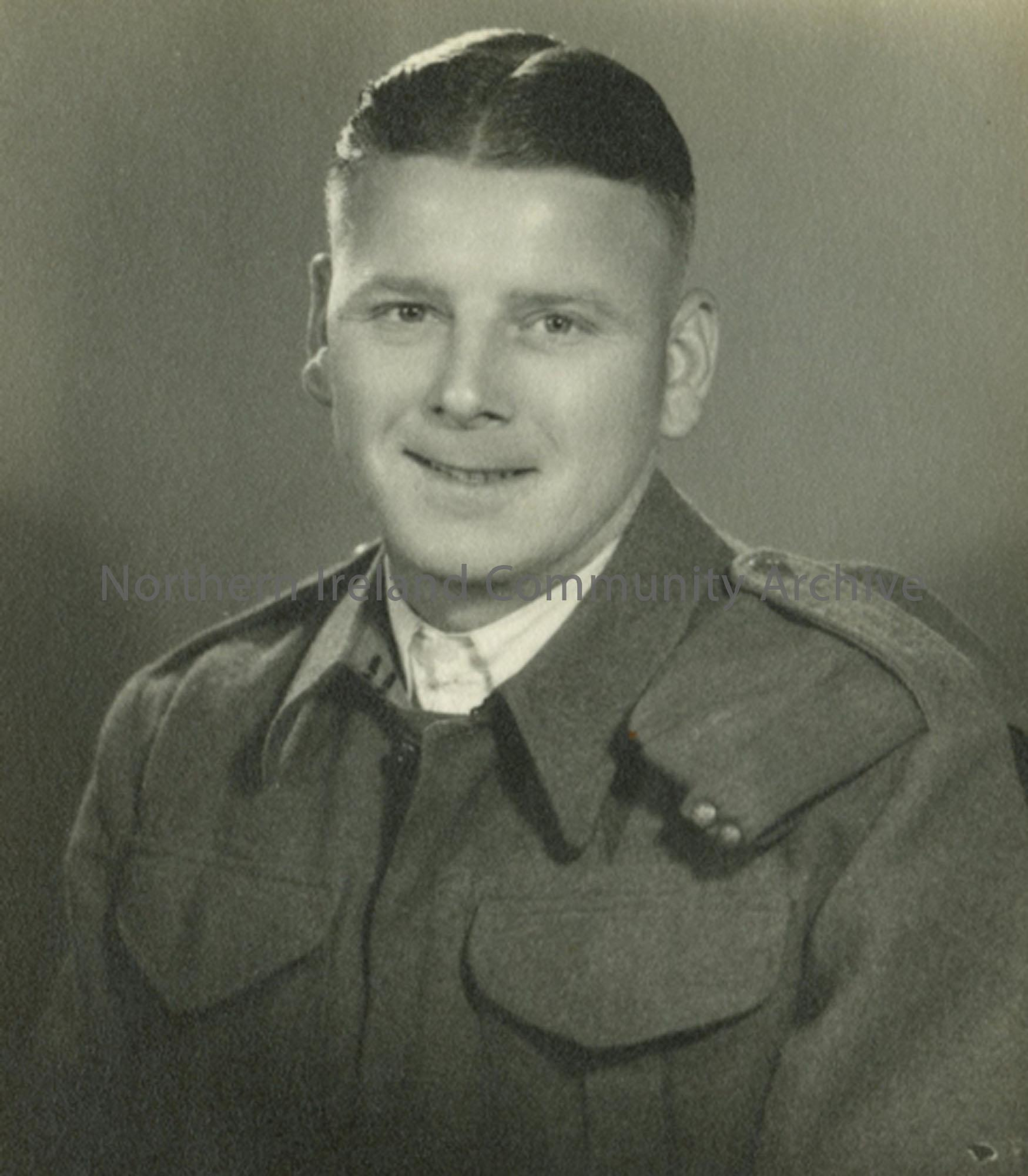 Photo of a soldier