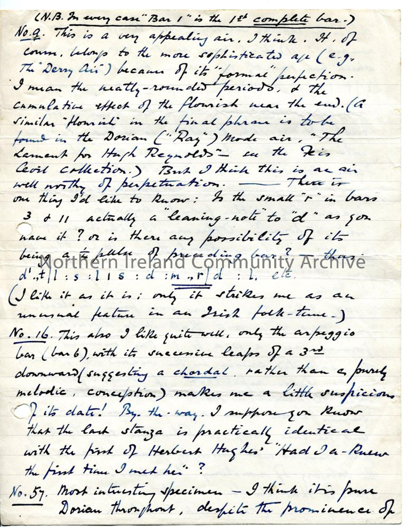 Page 3 of 12, letter from Norman Hay, 1.2.1927