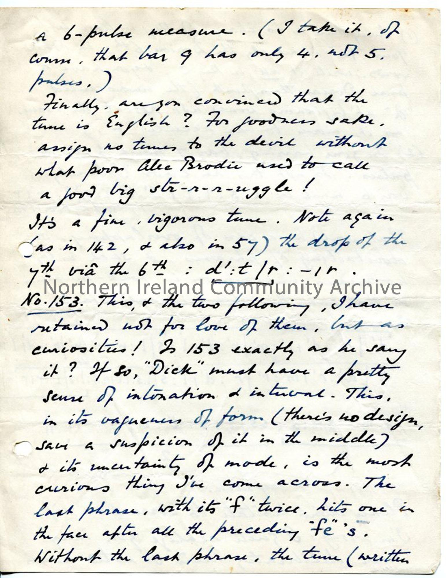 Page 9 of 12, letter from Norman Hay, 1.2.1927