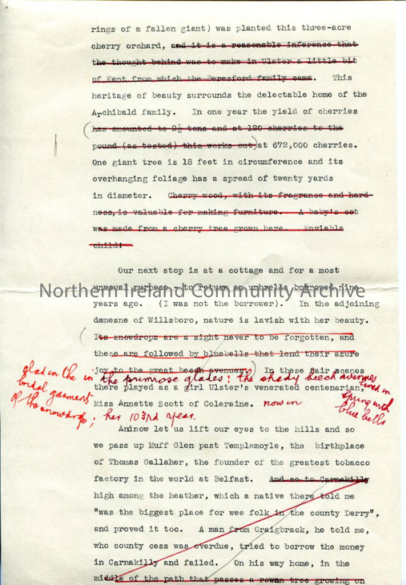 Page 3 of 10: Draft Script for 'Undiscovered Ulster – County Londonderry'