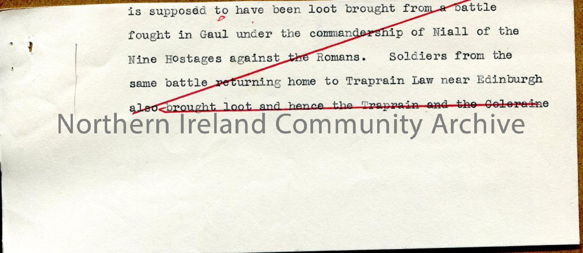 Page 4 of 10: Draft Script for 'Undiscovered Ulster – County Londonderry'