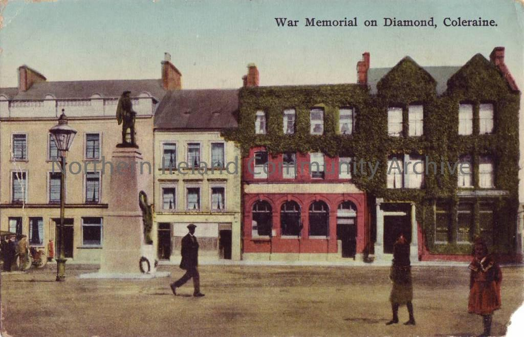 War Memorial on Diamond, Coleraine