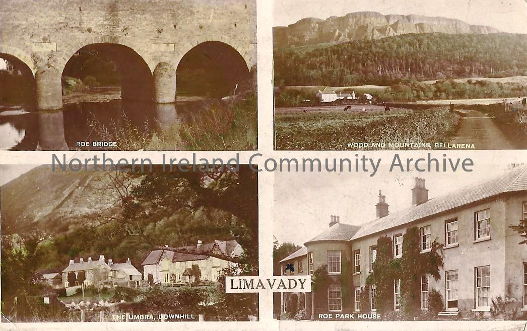 Roe Bridge, The Umbra, Downhill, Wood and Mountains, Bellarena, Roe park House, Limavady