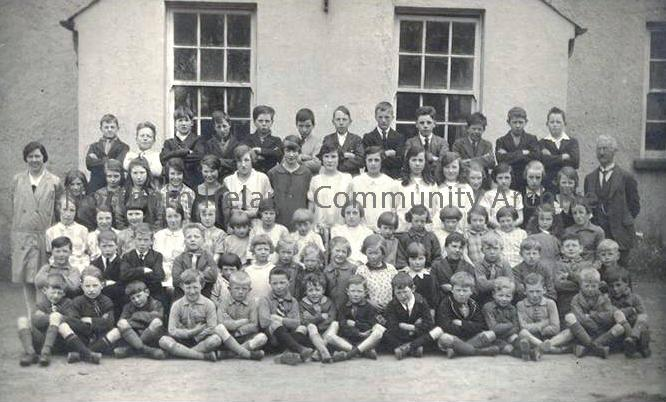 Dungiven Primary School Class Photo 1928-29