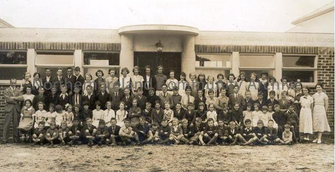 Dungiven Primary School Opening Day 1936