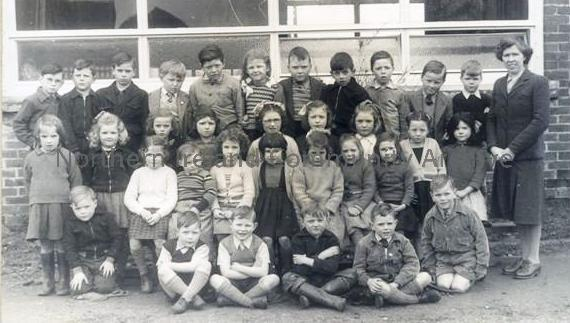 Dungiven Primary School Class Photo 1950