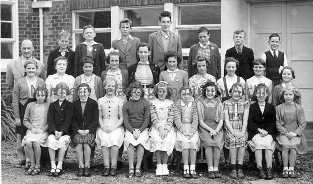 Dungiven Primary School Class Photo 1956