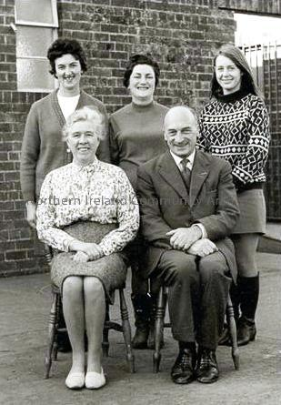 Dungiven Primary School Teacher Photo 1968