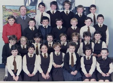 Dungiven Primary School Class Photo 1984