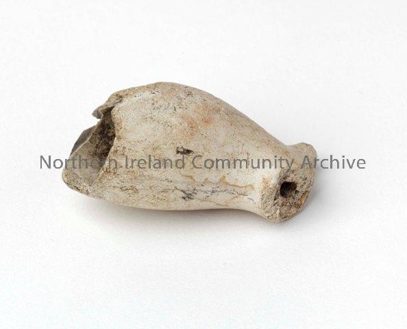 17th century clay pipe fragment