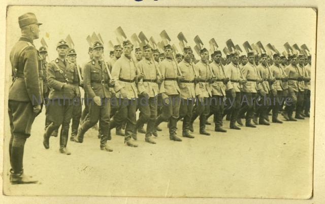 German Troops Marching