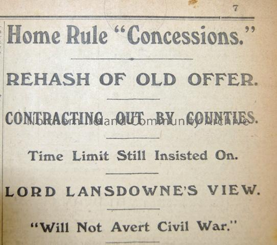 """Home Rule Concessions"""