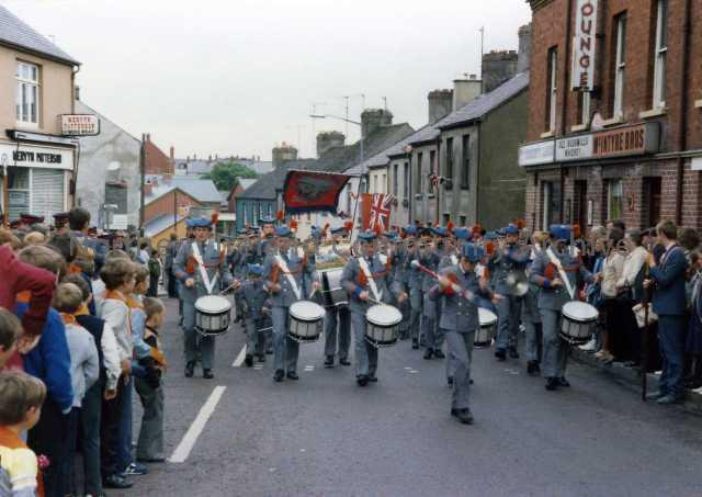 Parade in Coleraine