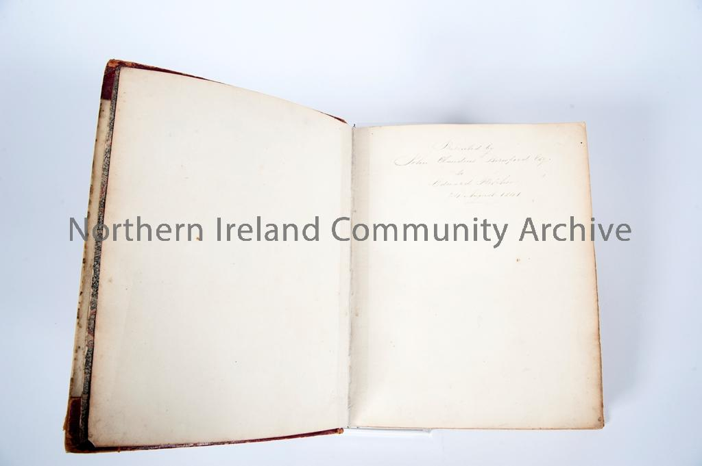 Book of Coleraine – Front Page