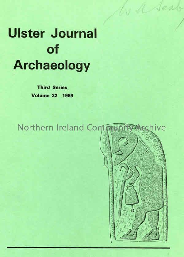 book titled, Ulster Journal of Archaeology. Third Series Volume 33, 1970 (1838)