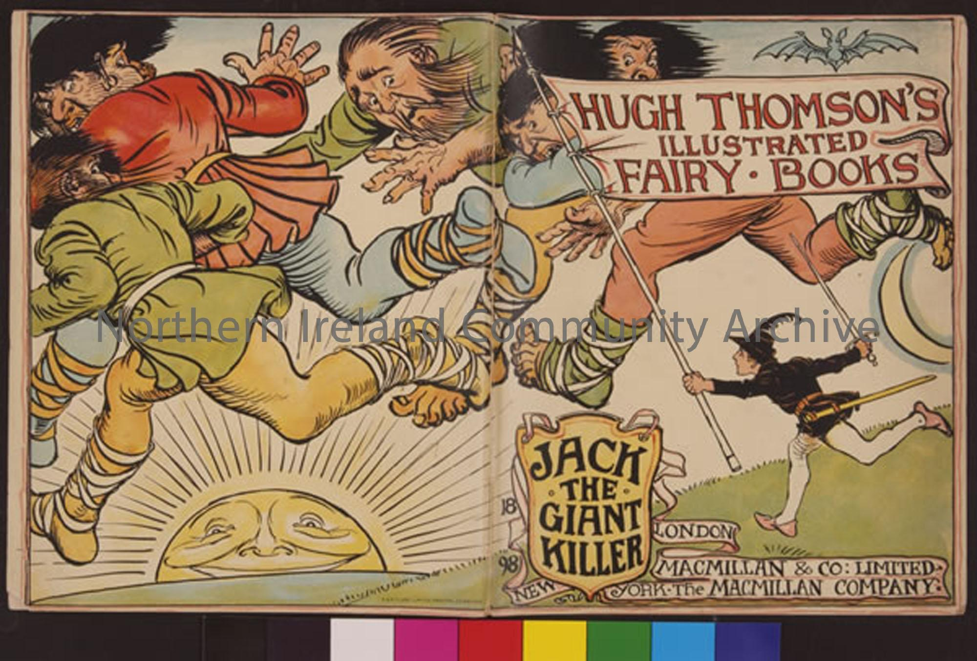 Jack the Giant Killer, Fairy Book, Illustrated by Hugh Thomson  (2522)