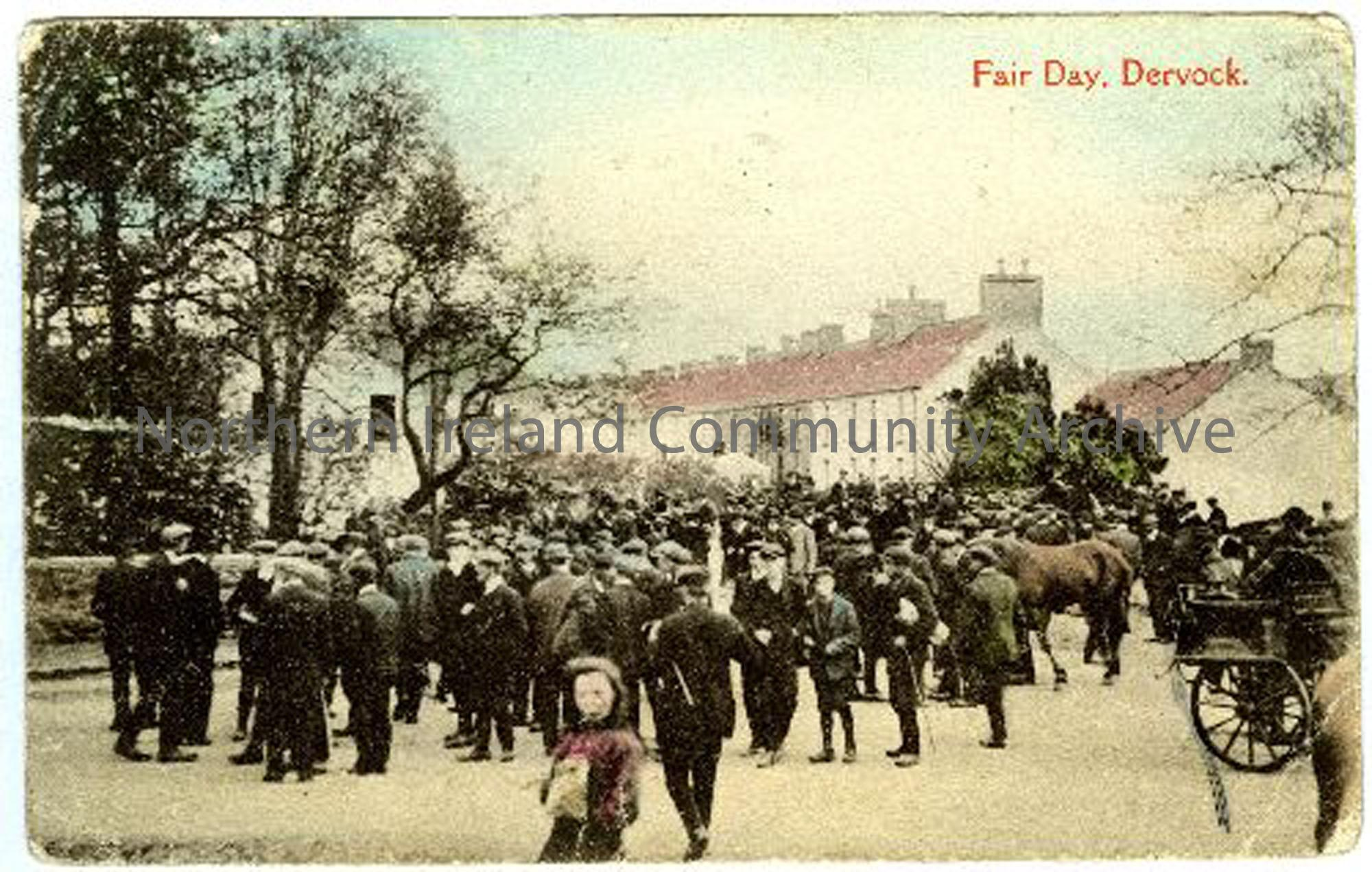 Dervock Fair Day c1900 2