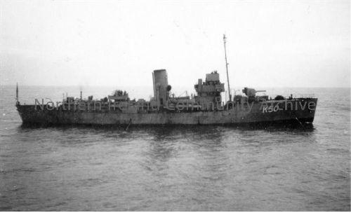 HMS Erica K 50  Ship number 1067 Launched 18 Jun, 1940   Commissioned 9 Aug, 1940    (4640)