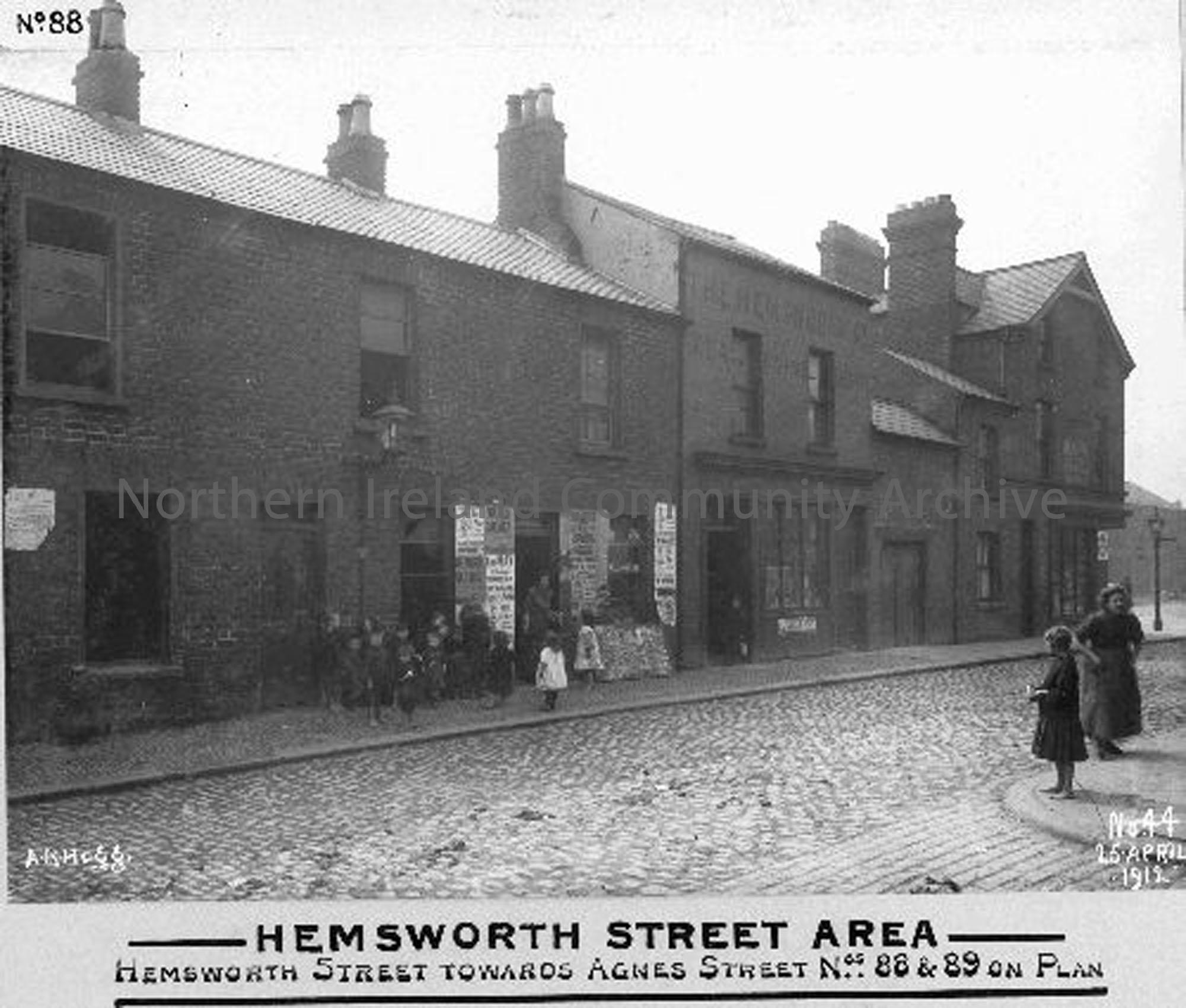 Hemsworth Street Area – Towards Agnes Street (1661)