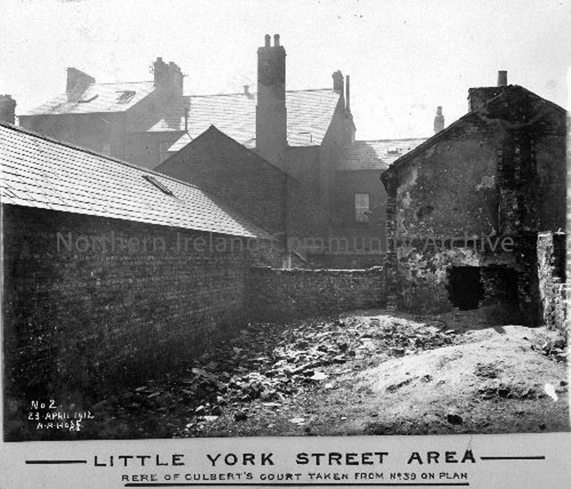 Little York Street Area – Rere of Culberts Court (2779)