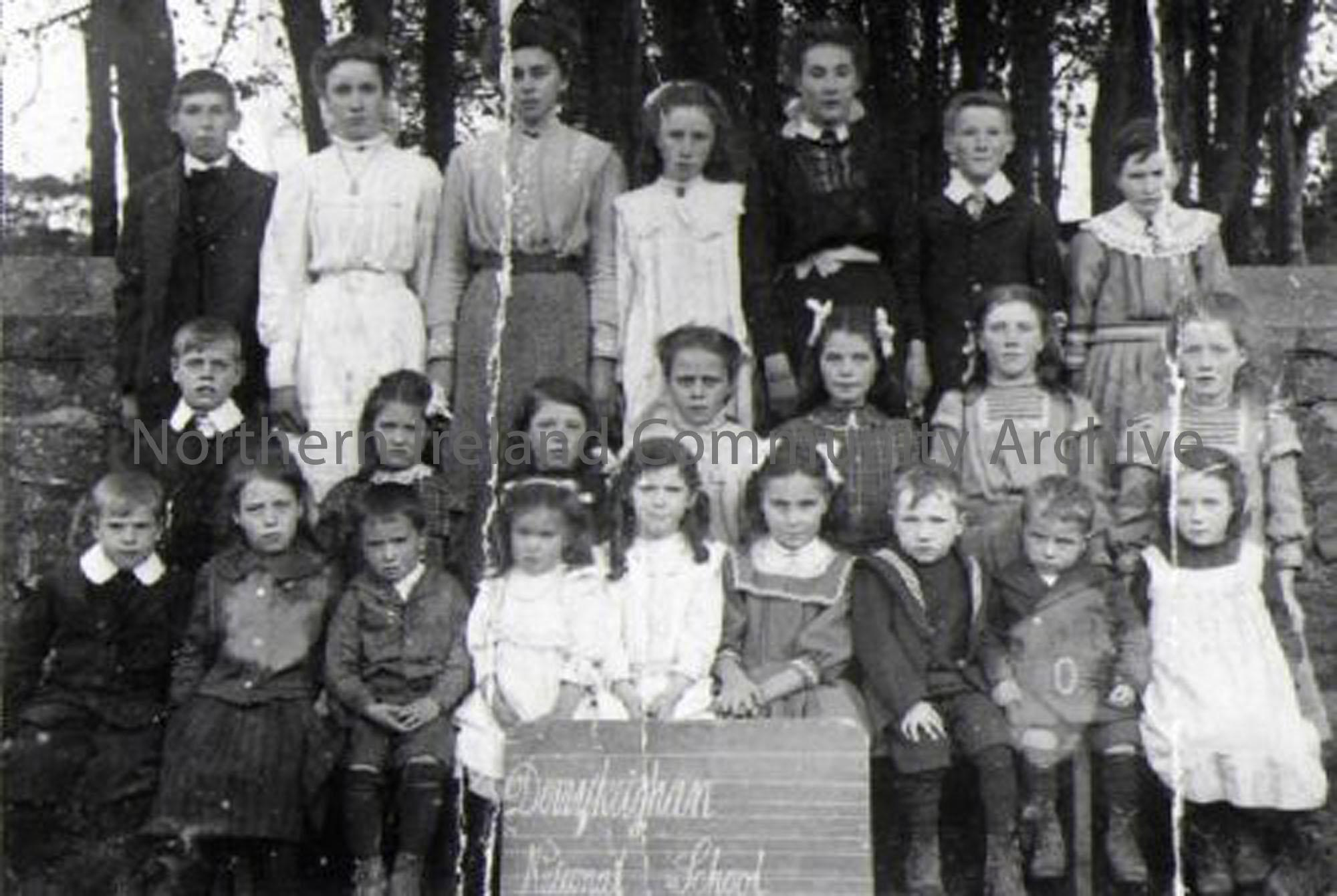 Derrykeighan National School, 1912