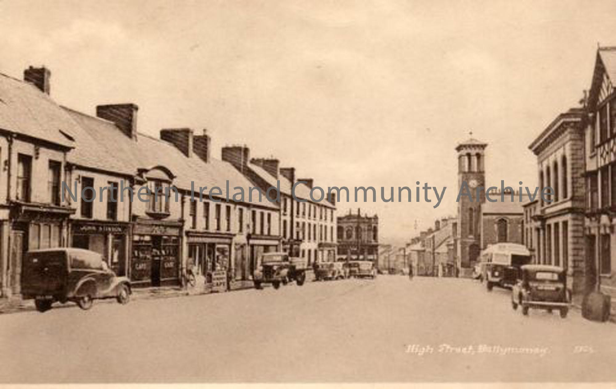 Ballymoney High Street. From a collection of photos donated by Raymond Wilson (5691)