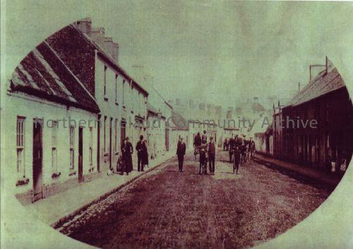 Castle Street, Ballymoney in the late 1800s (4209)