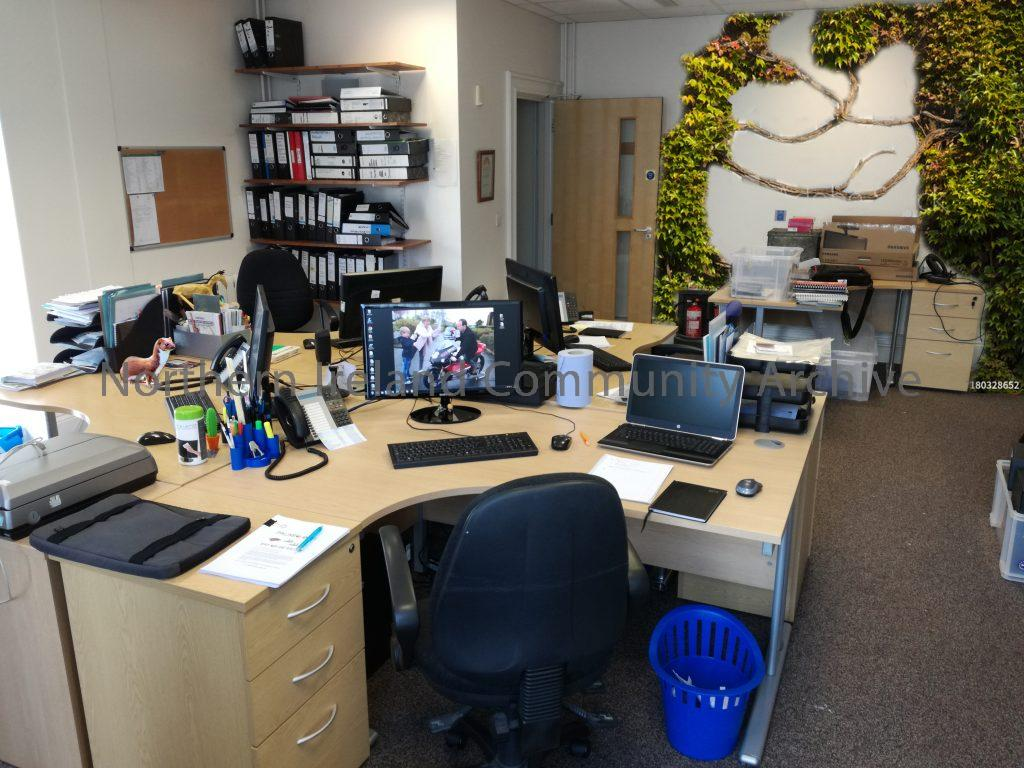 Museum Service HQ – 2 weeks after people
