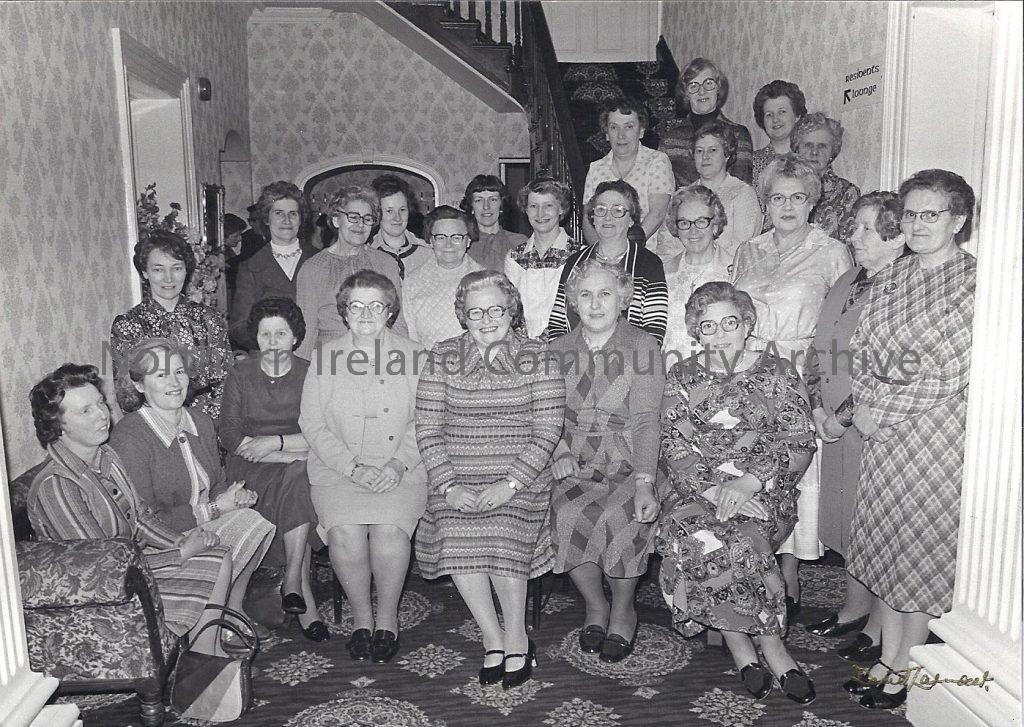 Members of Dungiven Women's Institute celebrating their 30th Anniversary in 1979.