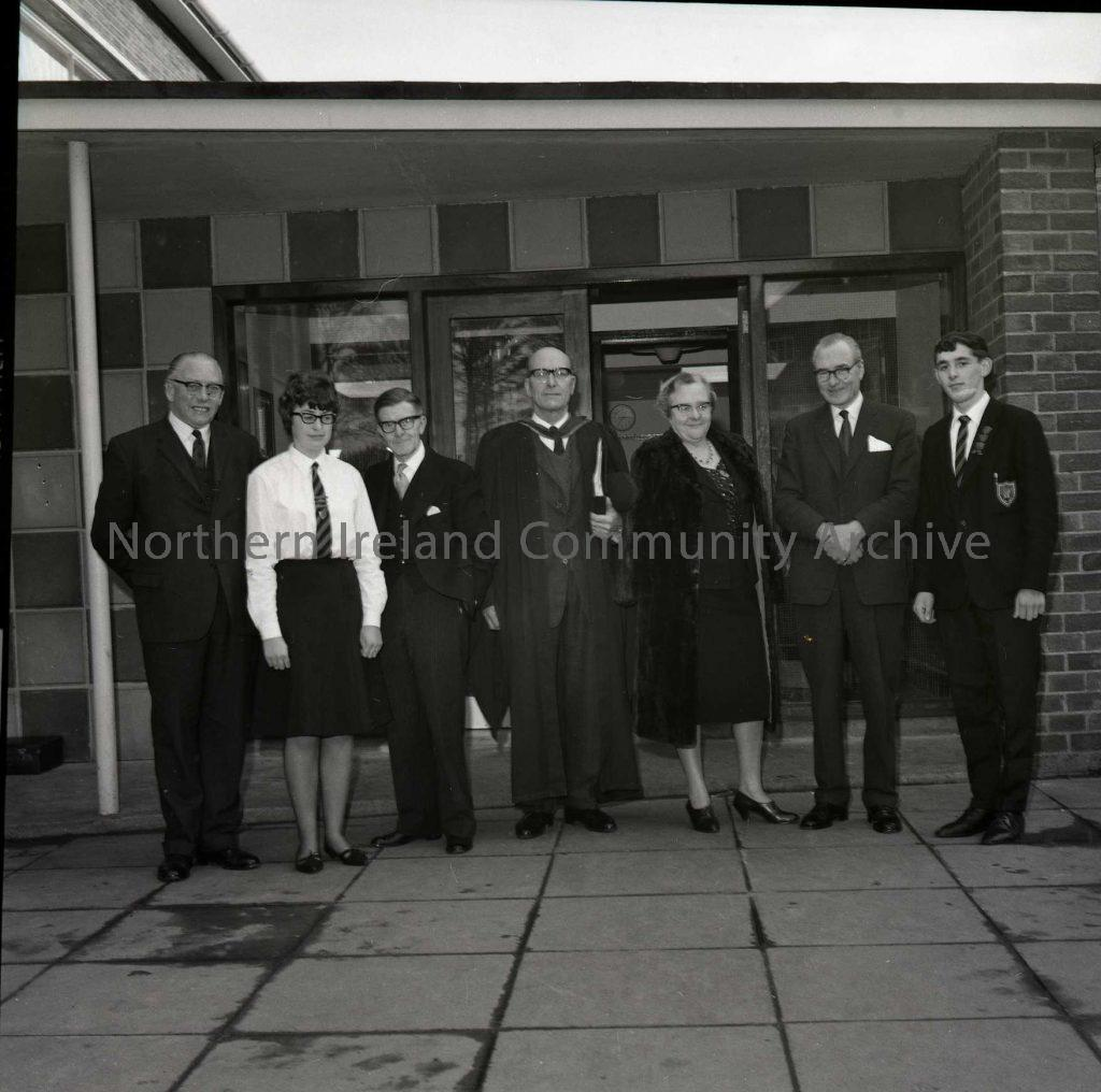 Ballycastle School Prize Day, Nov 1965