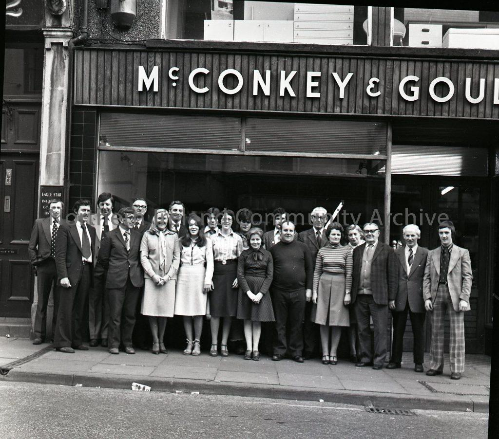 McConkey and Goulds 21st May 1977