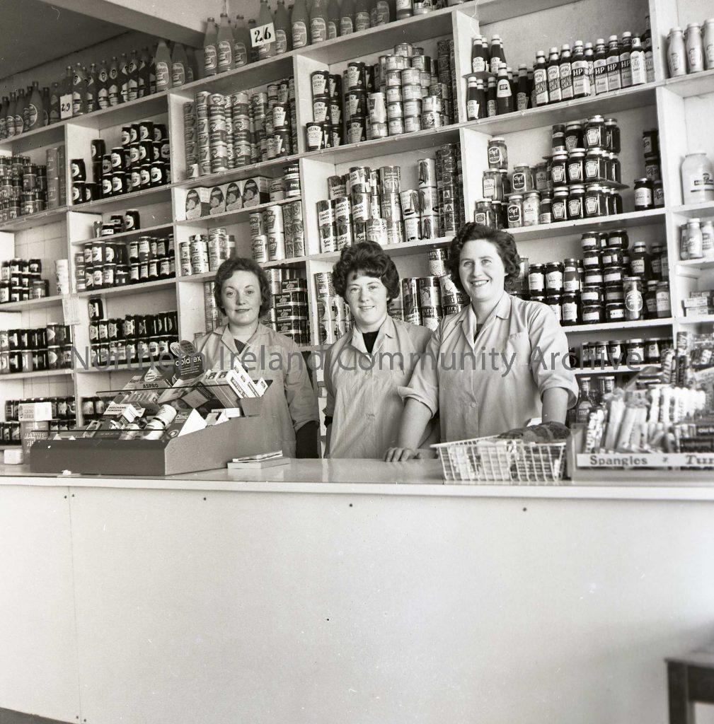 Interior of Robert Gardiner's Shop, Aug 1963