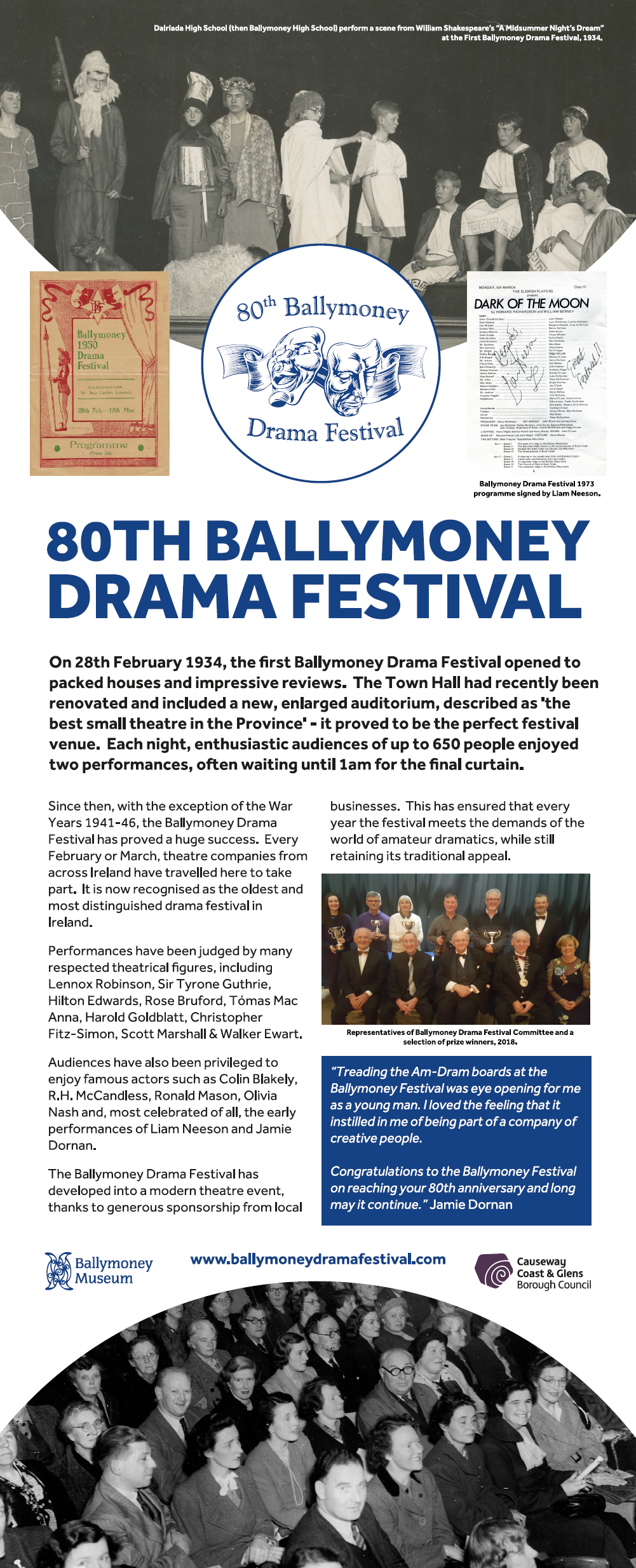 80th Ballymoney Drama Festival